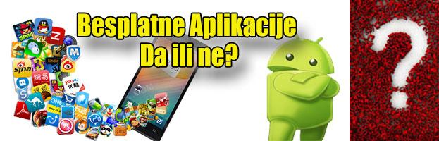 Zašto izbjegavati besplatne aplikacije?